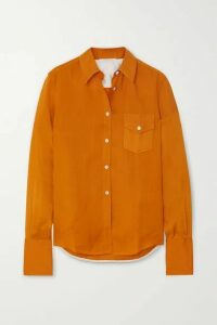 Peter Do - Voile Shirt - Orange