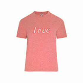 Ashbourne Ditsy Love Embroidered T-Shirt