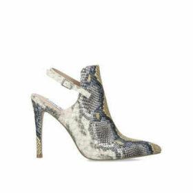 Steve Madden Daily - Snake Print Slingback Ankle Boot