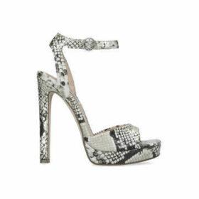 Steve Madden Luv - Snake Print Platform Sandals