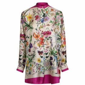 Gucci Oversized Floral Shirt