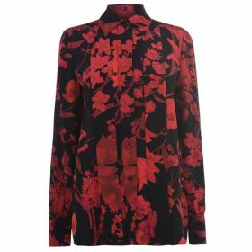 Valentino Double Flower Print Blouse