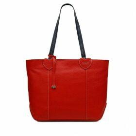 I Love You Large Zip-Top Tote Bag