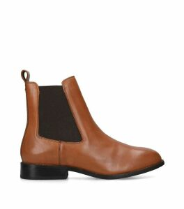 Leather Rest Chelsea Boots