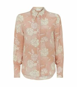 Silk Flower Shirt
