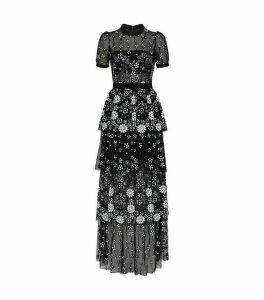 Deco Sequin Maxi Dress