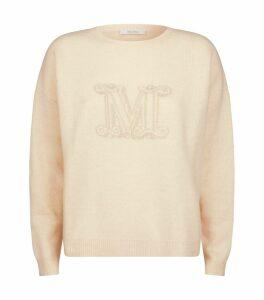 Cashmere Monogram Udine Sweater