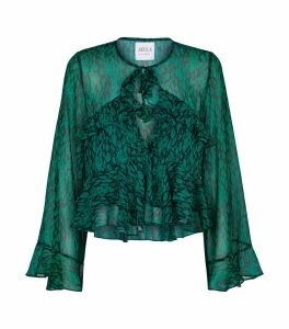 Printed Damaris Blouse