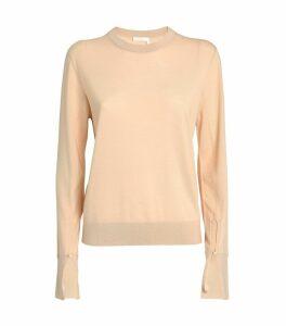 Split Cuff Sweater