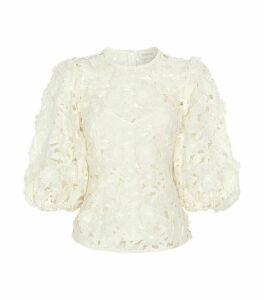 Super Eight Floral Lift-Off Blouse