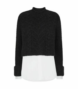 Kalk Cropped Sweater