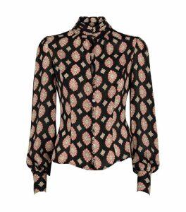 Silk Georgette Printed Top
