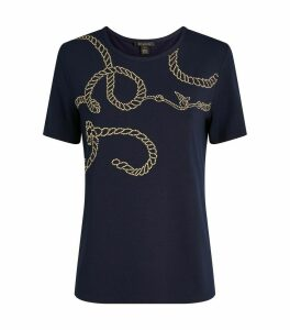 Stud Embellished T-Shirt