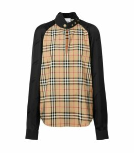 Vintage Check Long-Sleeved Top