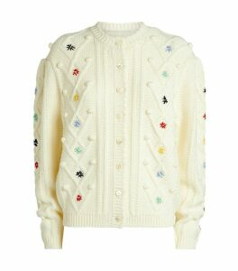 Shrimp P Mccoy Bobbles Embroid Cardigan