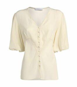 Athena Silk Top
