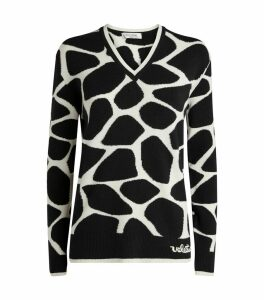 Wool Giraffe Sweater