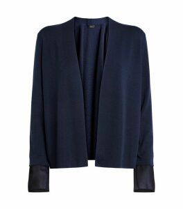 Detachable Silk Cuffs Cardigan