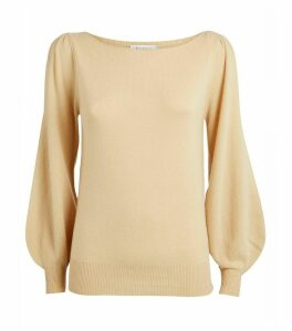 Cashmere Balloon Sweater