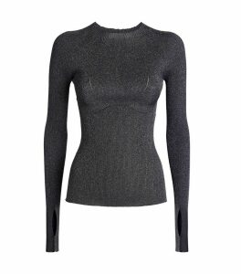 Lurex Knit Sweater
