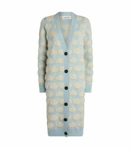 Moutons Oversized Textured Cardigan