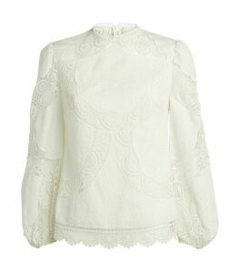 Crochet-Embroidery Top