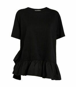 Ruffle-Trim T-Shirt