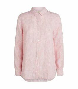 Linen Pinstripe Shirt