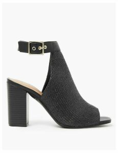 M&S Collection Open Toe Ankle Strap Sandals