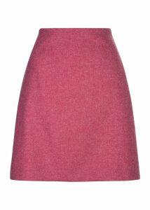 Elea Wool Skirt Pink
