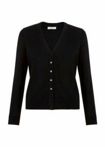 Matilda Merino Wool Cardigan Black