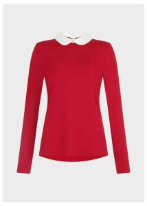 Sasha Top Red Ivory