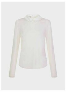 Liv Top Pale Pink Ivory