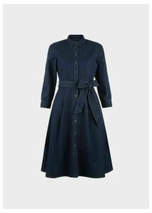 Elle Denim Dress Blue