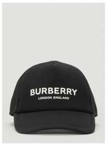 Burberry Logo Baseball Cap in Black size S