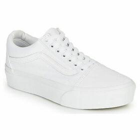 Vans  UA Old Skool Platform  women's Shoes (Trainers) in White