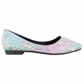Love My Style  Izabelle  women's Shoes (Pumps / Ballerinas) in Silver