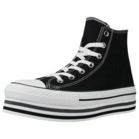Converse  CHUCK TAYLOR ALL STAR PLATF  women's Shoes (High-top Trainers) in Black