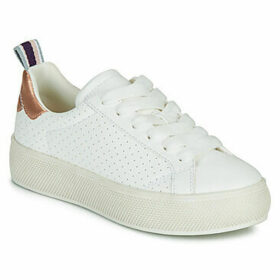 Esprit  BABIKA PERF  women's Shoes (Trainers) in White