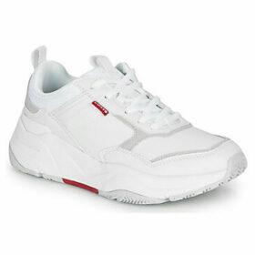Levis  WEST  women's Shoes (Trainers) in White