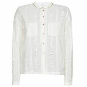 Le Temps des Cerises  VIRGO  women's Blouse in White