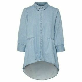 Only  15195905 CANBERRA  women's Shirt in Blue