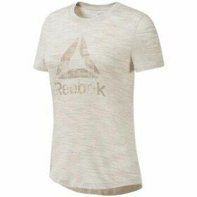 Reebok Sport  Marble Tee  women's T shirt in multicolour
