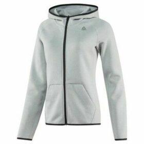 Reebok Sport  Full Zip Hoodie  women's Sweatshirt in Grey