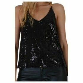 Love My Style  Kezia  women's Blouse in Black