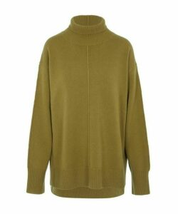 Oversized High Neck Jumper