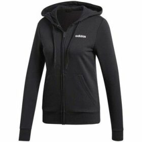 adidas  W Essentials Pln FZ HD  women's Sweatshirt in Black