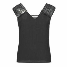 Naf Naf  MELBO SM  women's Blouse in Black