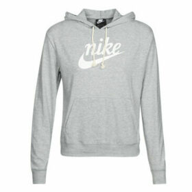 Nike  W NSW GYM VNTG HOODIE HBR  women's Sweatshirt in Grey