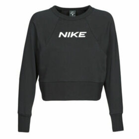 Nike  W NK DRY GET FIT FC CW CP EL G  women's Sweatshirt in Black